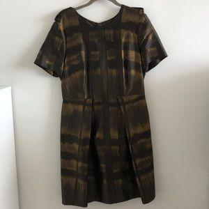 Burberry Anamaria Metallic Dress Size 12